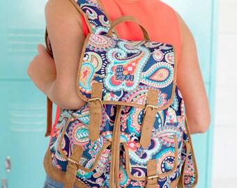 Personalized Backpack~ Monogrammed College Backpack~Ladies Backpack