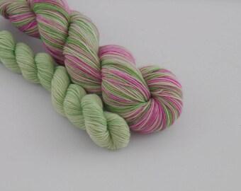 LOVE SOCK self-striping, 012, merino nylon sock yarn,100g