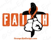 Copd, Crps, Kidney Cancer, Leukemia Svg, Multiple Sclerosis, Rsd, Adhd, Orange, Cancer Svg, Cancer Ribbon Svg, Awareness Ribbon Svg