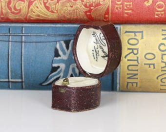 Antique Victorian Ring Box Engagement or Wedding Ring Box