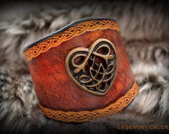 Strength of the flaming heart bracelet