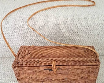 Thai Basketweave Handbag