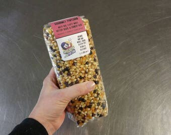 1 1/2 lb Gourmet Popcorn Kernel Mix - Made in Vermont - From organic Vermont and Canadian farms!