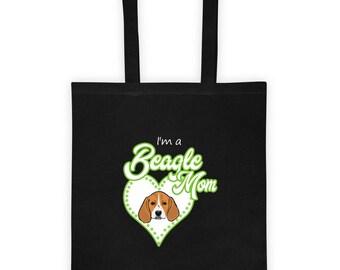 BeagleMom Tote bag (Green)