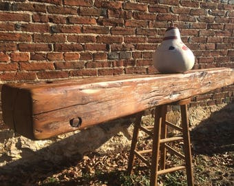 1800's Barn Beam, Hand finished for a mantle.Barn Beam Mantle