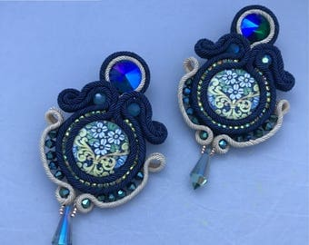 Earrings Soutache