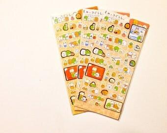 sumikko gurashi san-x sticker sheet