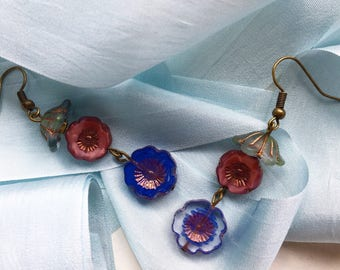 Boldness in Florals Earrings