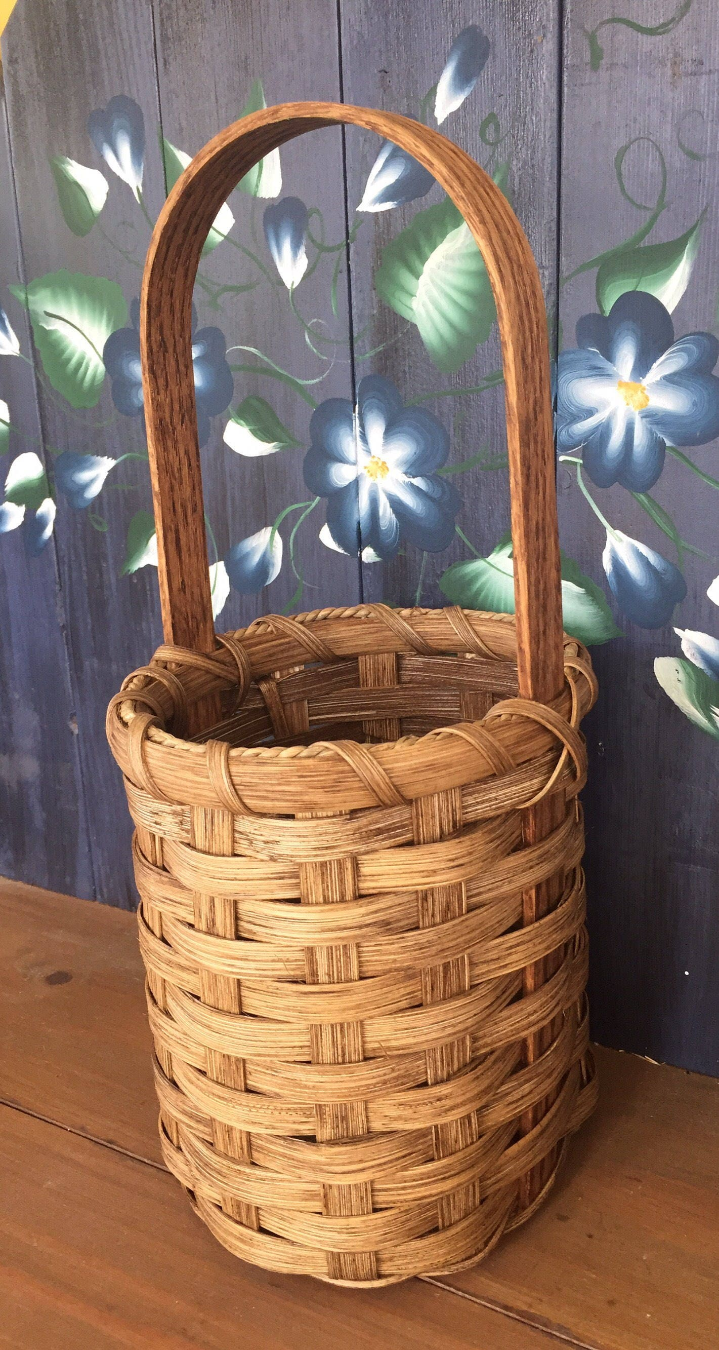 Handmade Basket Gifts : Handmade basket wine gift made in usa