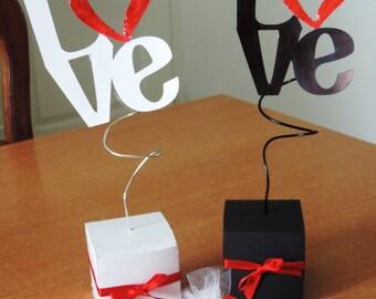 February 14 box gift Valentine's 3D - LOVE