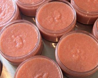 Venus Body Scrub. Juicy Couture. Organic Sugar. Organic Coconut Oil. Organic Shea Butter. Made in Utah.