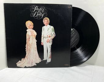 Porter Wagoner And Dolly Parton vinyl record Porter & Dolly 1980 VG+ Country