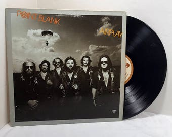 Point Blank Airplay vinyl record 1979 Southern Rock, Blues Rock VG+