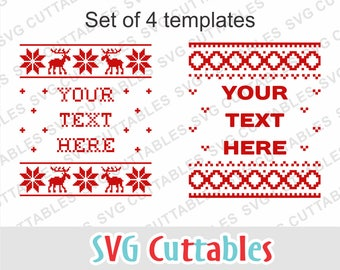 Ugly sweater svg, Christmas svg, Christmas Sweater SVG, EPS, DXF, sweater alphabet, svg bundle, Ugly Christmas Sweater Vector, Digital file