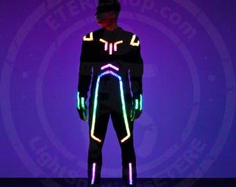 SMART LED flyboard suit model LENTULUS