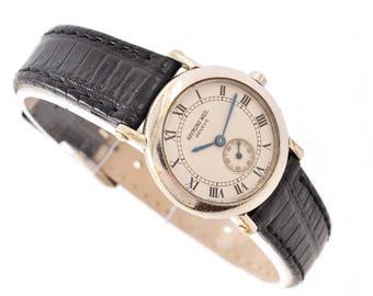 Vintage Raymond Weil Geneve Stainless Steel Quartz Ladies Petite Watch 1194 -  Make me an offer!