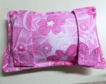 Chemo Port Softie Seatbelt Pad - Pink Ribbon, Heart, Flower print