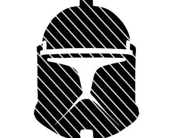 Star Wars Clone Trooper - SVG file