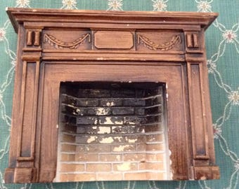 Dollhouse Fireplace Wow