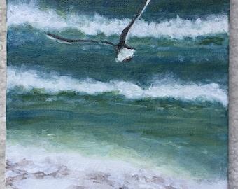 Fly Away - 8 x 10 acrylic on canvas