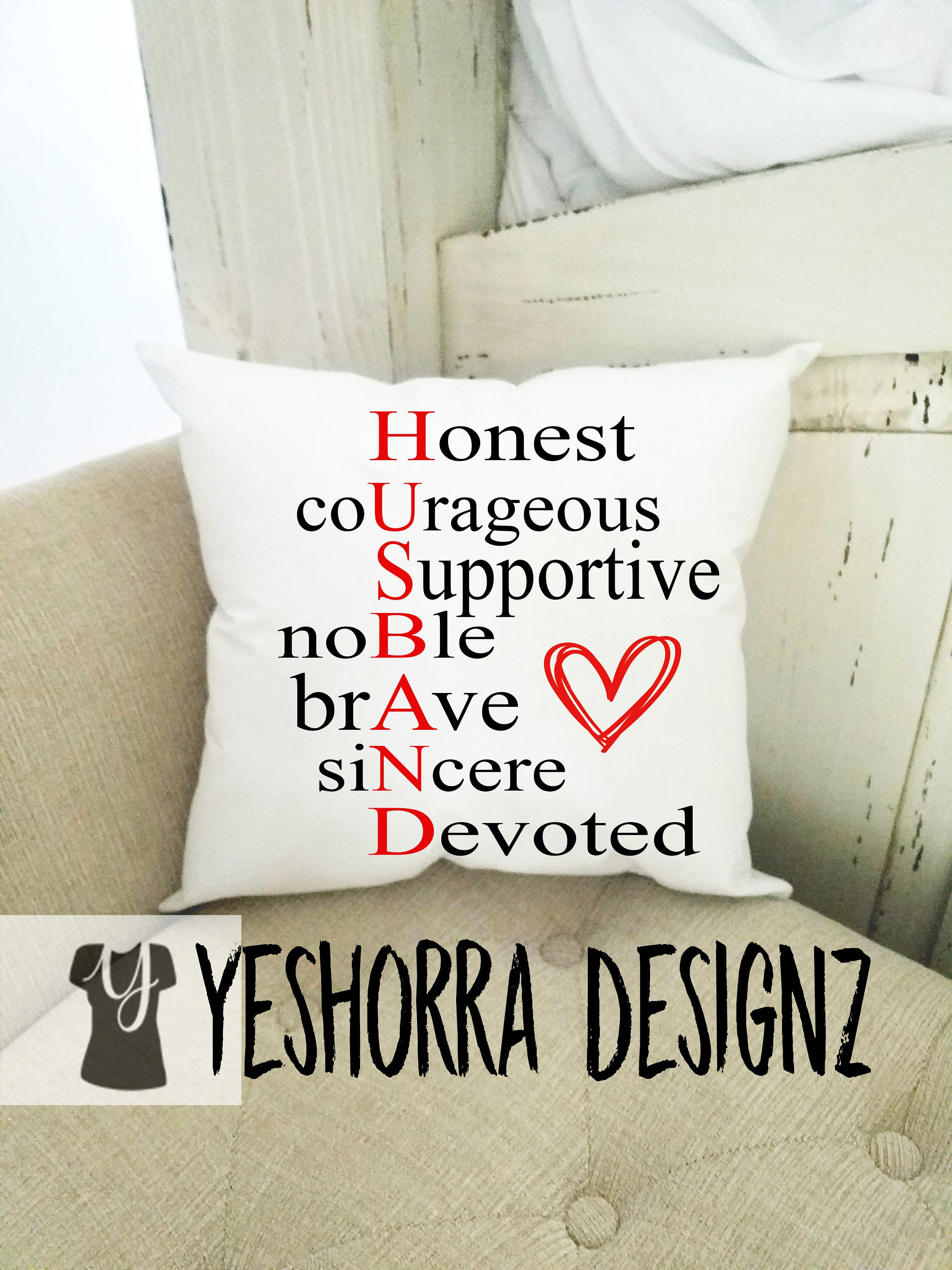 valentines day gift for him gift for husband newly wed gift groom gift husband pillow gifts for men gifts for him wedding gift