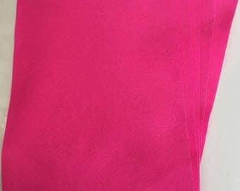 5x Pink Felt Sheets