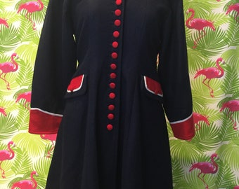 Vintage military or majorette style coat