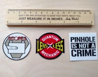 Pinhole Sticker Variety Pack