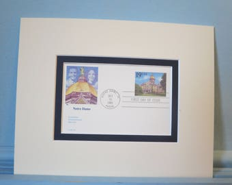 Notre Dame University founded 1842 & 150th Anniversary First Day Cover