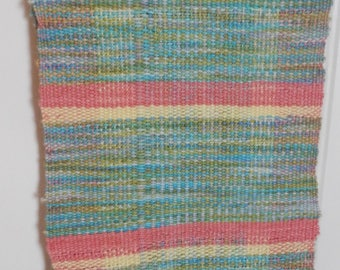 Cheerful Handwoven Long Narrow Table Runner!
