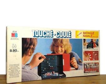 "ON SALE Game ""Touché-Coulé"" by MILTON Bradley"