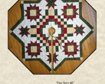 tree skirt pattern etsy - Christmas Tree Skirt Pattern