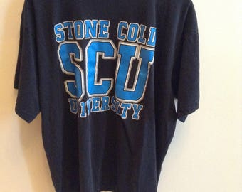Vintage Stone Cold University shirt - XL - 1996 - WWF / WWE - Class of 3:16 - Steve Austin