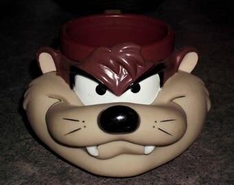 Vintage 1992 Tasmanian Devil Mug - Looney Tunes Warner Brothers
