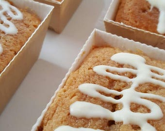 X8 Mini Cake Loafs /Lemon / Coconut / Baileys / Rum / Cake