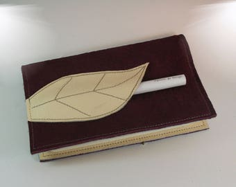 Very nice pouch leather moleskine notebook