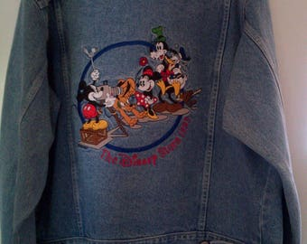 Disney Store Cast Member Denim Jacket