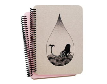 Mermaid Series Spiral Notebook 4