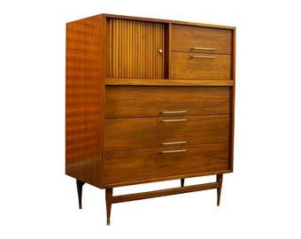 Mid-Century Modern Highboy Dresser / Wardrobe / Chest