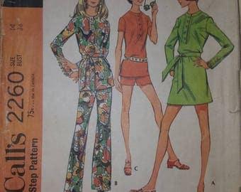 McCall's Pattern Size 14  #2260