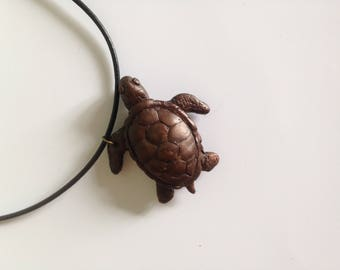 Turtle spirit guide pendant