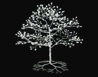 Wire Tree Sculpture - Bonsai Tree - Made to Order - Wedding Cake Topper
