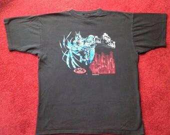 VTG 1997 Batman T-Shirt - XL - DC Comics - Gotham City - Bruce Wayne - Vintage Tee - Vintage Clothing -