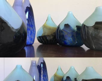 Dusk Mountain Vase Series- One of a kind