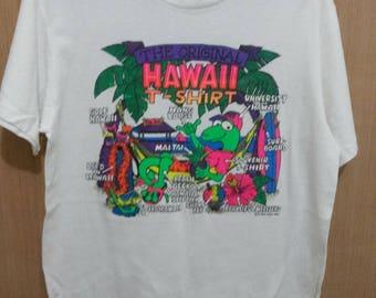 Vintage Hawaii Hang Loose Shirt size M made in USA