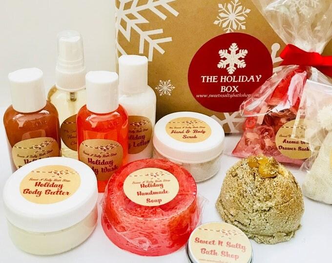 Holiday Bath & Body Sampler Box