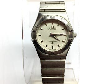 OMEGA CONSTELLATION Steel Ladies Watch