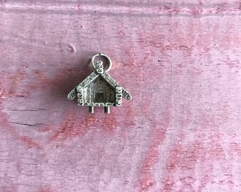 Sterling Silver House Cabin 3.5g
