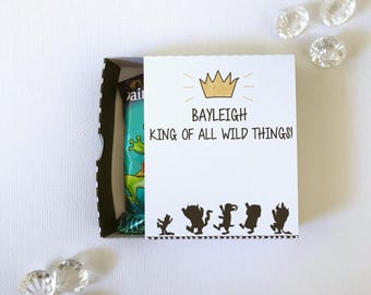 Where the wild things are matchboxes
