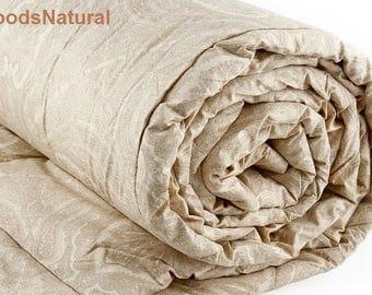 Camel Wool Duvet/ Wool Comforter/ 100% Camel Wool Filled Duvet/Twin Duvet/ Double Duvet/FullDuvet/ Eco Friendly